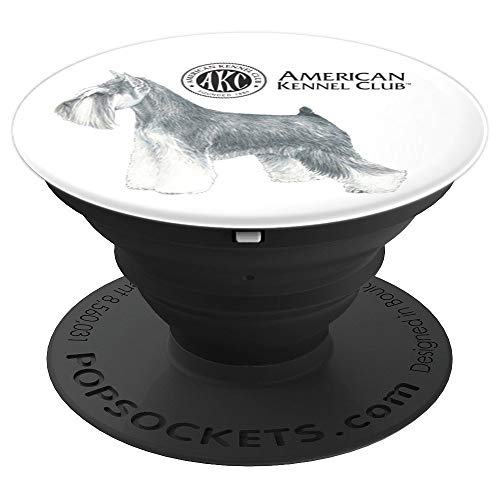 Giant Schnauzer Club - AKC Miniature Schnauzer PopSocket - PopSockets Grip and Stand for Phones and Tablets