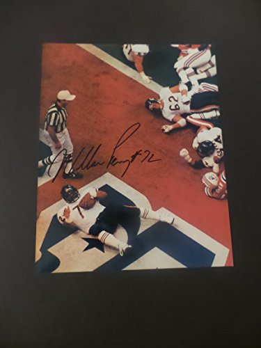 - William Perry Signed Chicago Bears Autographed 8x10 Photograph