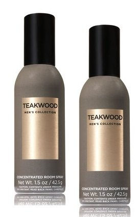 Bath and Body Works 2 Pack Teakwood Concentrated Room Spray. 1.5 Oz. - Fragrance Home Concentrated Spray