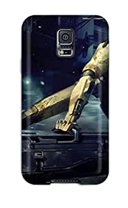 New Fighting With The Robot Tpu Case Cover, Anti-scratch ZiWfCHz1890zCxJR Phone Case For Galaxy S5