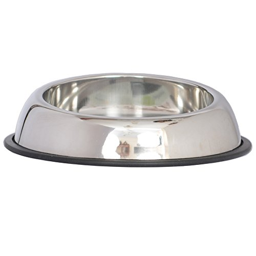 Iconic Pet 12-Cup Heavy Weight Non-Skid Easy Feed High Back Pet Bowl for Dog or Cat, 96-Ounce