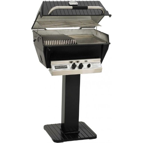 Broilmaster P3-sxn Super Premium Natural Gas Grill On Black Patio ()