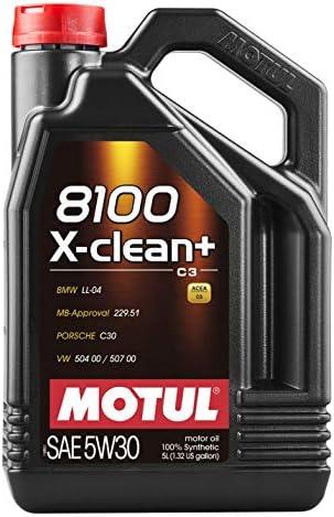 Motul 11113941 8100 XClean5W30 5L