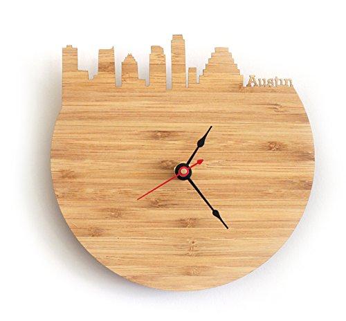 Austin Skyline Clock