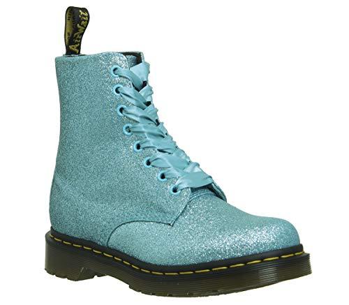 Dr. Marten's 1460 Original, Women's Lace-Up Boots Turquoise Glitter