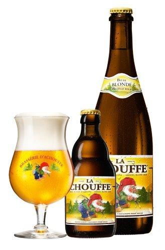 La Chouffe Bicchiere Da Birra 33cl Birra Belga Forma Perfetta Per Bere La Birra