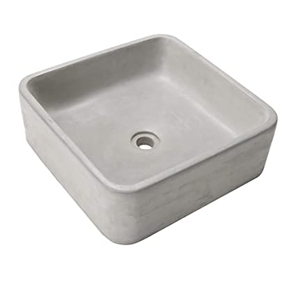Attrayant Amazon.com: Square Sink Mold Bathroom Pot Molds Concrete Sink Craft Moulds  Wash Basin Silicone Mould With Wooden Frame