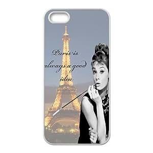 Audrey Hepburn Quotes Original New Print DIY Phone Case for iphone 6 plus,personalized case cover ygtg-781996