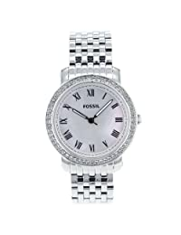 Fossil Women's ES3114 Stainless Steel Analog Mother-of-Pearl Dial Watch