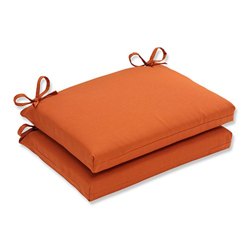 Pillow Perfect Outdoor Cinnabar Squared