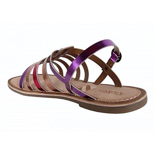 Sandales pour Fille KICKERS 472310-30 DIXMILLION FUCHSIA