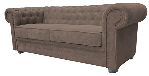 Armchair 1 Seater Chesterfield Style Venus Sofa 3 Seater 2 Seater Armchair Black Faux Leather