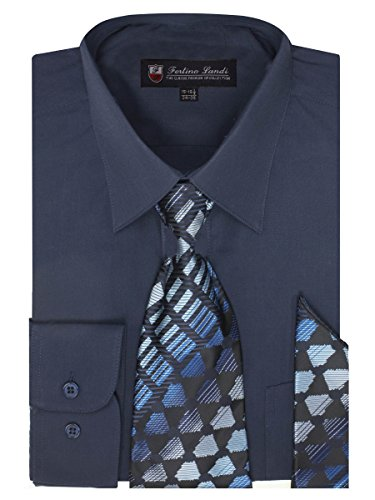 dress shirts ties to match navy suits - 1