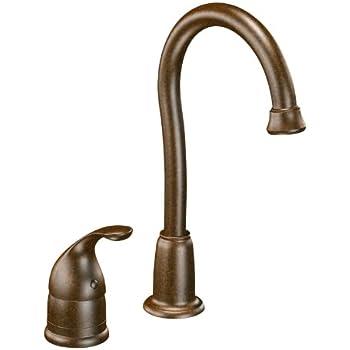 Moen 4905orb Camerist One Handle High Arc Bar Faucet Oil