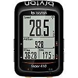 Bryton Rider 410E, Computer GPS Unisex – Adulto, Nero, M