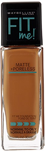 Maybelline New York Fit Me Matte Plus Poreless Foundation, W
