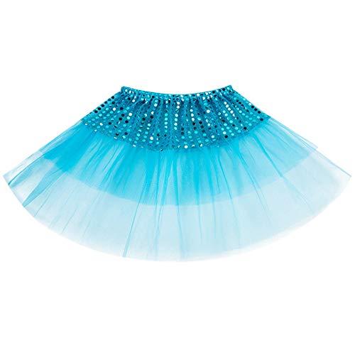 ❤️ Mealeaf ❤️ Todder Kids Girls Ballet Tutu Princess Dress up Dance Wear Costume Party Skirt((2-7 Years )) by ❤️ Mealeaf ❤️ _ Girl Dress (Image #3)