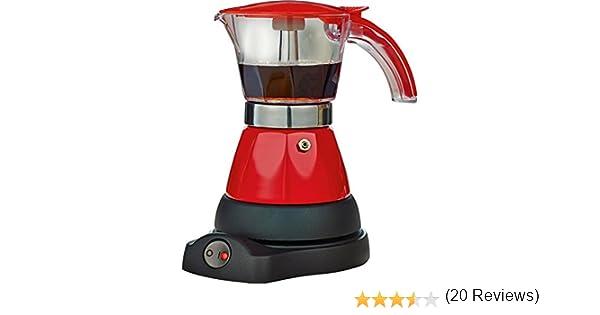 Cafetera Italiana Electrica - Moka Roja: Amazon.es: Hogar