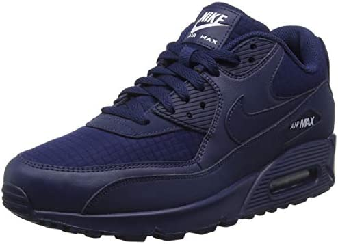 Nike Air Max 90 Essential Men Lifestyle Sneakers New Midnight Navy AJ1285-404