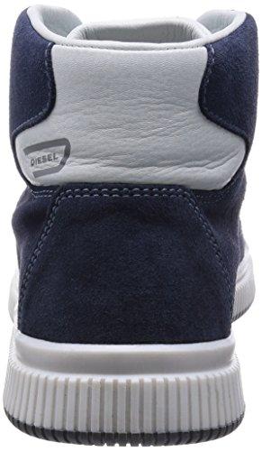 Diesel Herren Sneaker Mid Schuhe Urbany E-KURW Indigo / White