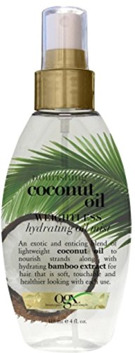 Price comparison product image OGX Nourishing Coconut Oil Weightless Hydrating Oil Mist 4 oz (Pack of 11)