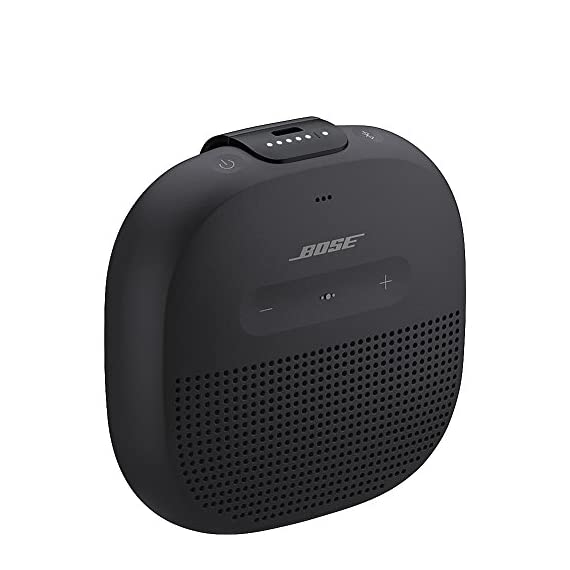 Bose SoundLink Micro Bluetooth speaker 4 Crisp, balanced sound Durable silicone strap Rugged, waterproof design (IPX7)