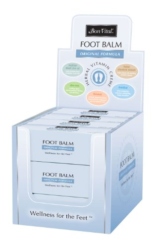 Bon Vital Original Foot Balm, 12-Pack Countertop Display (Urea Crystals compare prices)