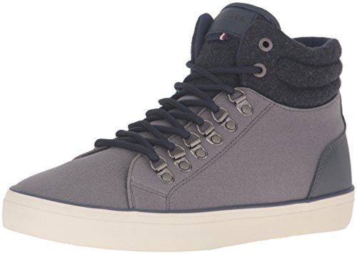 Tommy Hilfiger Canvas Shoes (Tommy Hilfiger Men's Penfield Fashion Sneaker, Grey, 9 M)