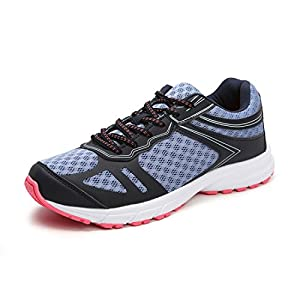 Hawkwell Women's Athletic Comfort Breathable Running Shoe,Navy Mesh,7 M US