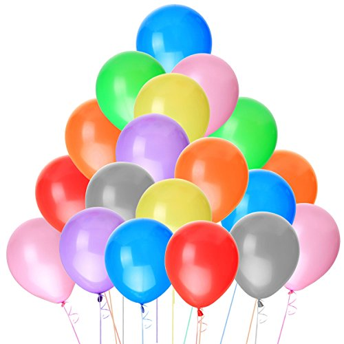 Tinksky Balloons 100pcs Assorted Decoration