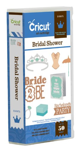 Cricut Bridal Shower Cartridge by Cricut