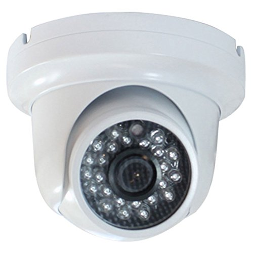 GW Security Inc VD106H GW Security Indoor 1//3-Inch 600 TVL 3.6mm Wide Angle Lens Sony CCD CCTV Dome Camera
