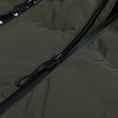 Green Piuma Giacca Anatra L Inverno Srl Bianca 80 Capispalla Caldo Dimensioni Per 66 Uomo Abbigliamento Cappotto Spessore colore Casual Piumino qYRva