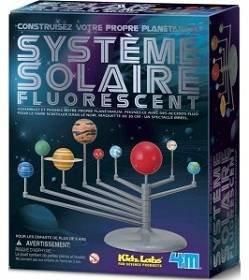 Kit de fabrication : Système solaire fluorescent