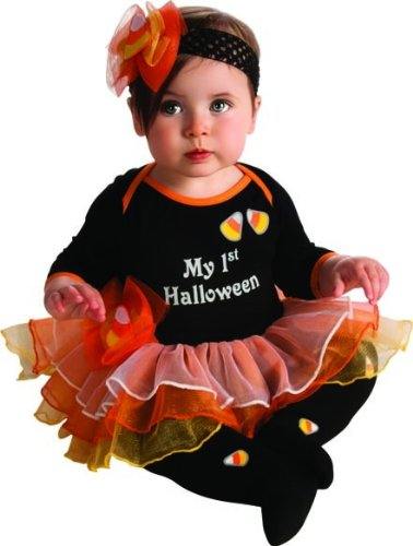 Rubie's Costume My First Halloween Tutu And Onesie, Black, (Halloween My Photo)