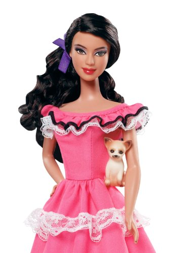 Barbie collector dolls of the world mexico doll import it all - Barbie barbie barbie barbie barbie ...