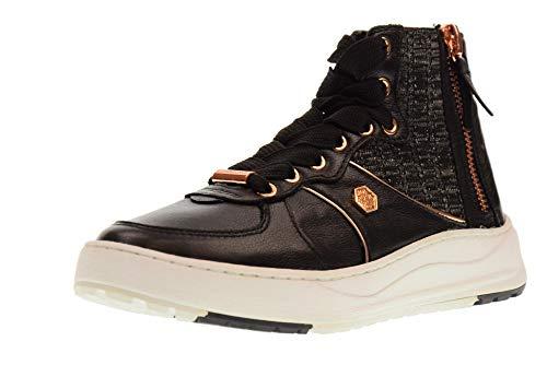 LUMBERJACK Zapatos de Mujer Botas Kaori SW52601-001 M08 CB001 Negro