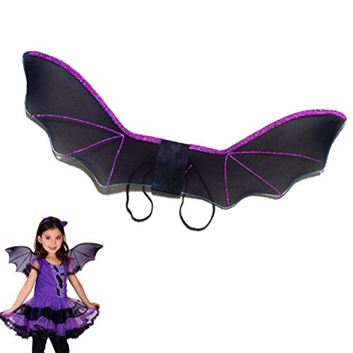 MEIQING Vampire Bat Plush Costume Bat Wings Costume for -
