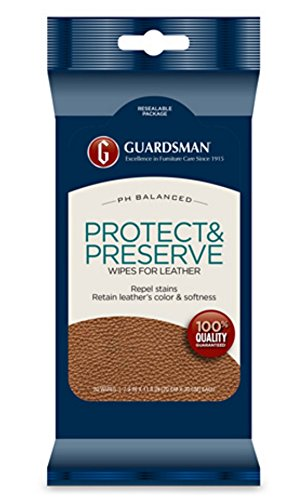GUARDSMAN Leather Protector Wipes Pack