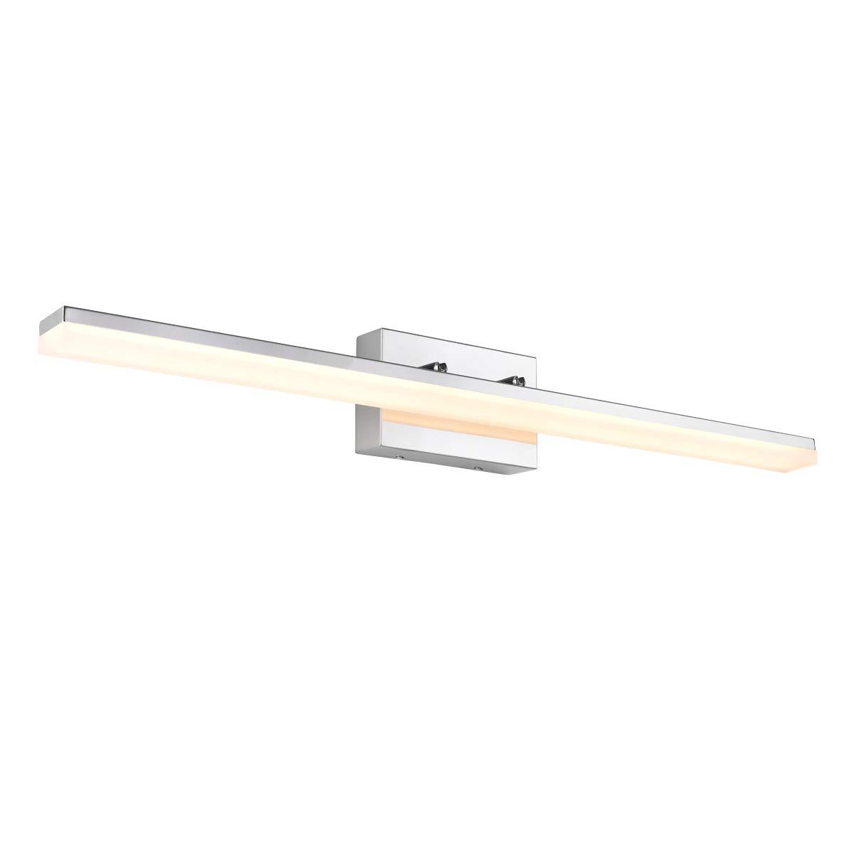 mirrea 36in Modern LED Vanity Light for Bathroom Lighting Dimmable 36w Warm White 3000K