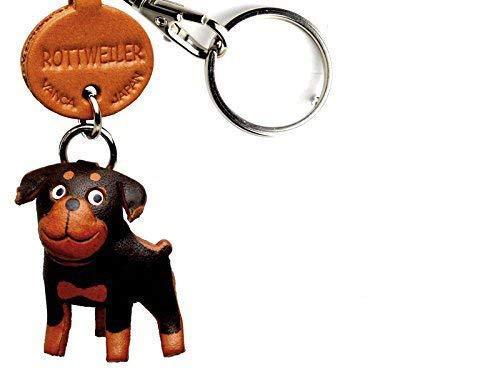 Amazon.com: Rottweiler piel Perro Pequeño llavero vanca ...