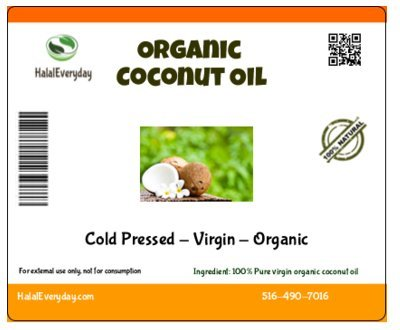 Extra-Virgin-Coconut-Oil-Cold-Pressed-100-Pure-and-Organic-Moisturizing-Oil-16-Oz-Non-GMO-Vegan-and-Halal-76-Degree-Melting-Point