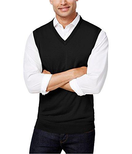 V-neck Vest Performance Sweater (Club Room Mens Small Performance V-Neck Vest Sweater)