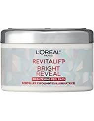 Exfoliating Facial Pads by L'Oreal Paris, Revitalift...