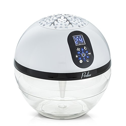 Prolux Water Based Air Purifier Humidifier and Aromatherapy Diffuser with LED Screen by Prolux
