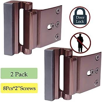 Defender Security U 11126 Door Reinforcement Lock Add