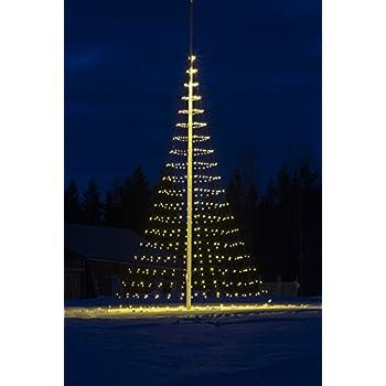 flagpole christmas tree 26ft led net with 640 led