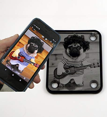(Photo Neck Plate - Your Photograph Custom Engraved)