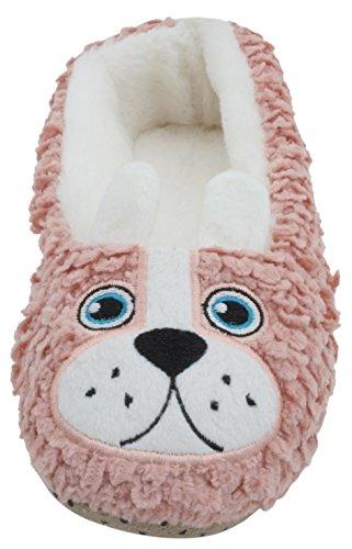 SlumberzzZ , Damen Hausschuhe rosa/hund