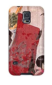Snap-on Case Designed For Galaxy S5- Bleach